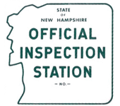 State of New Hampshire Official Vehicle Inspection Station
